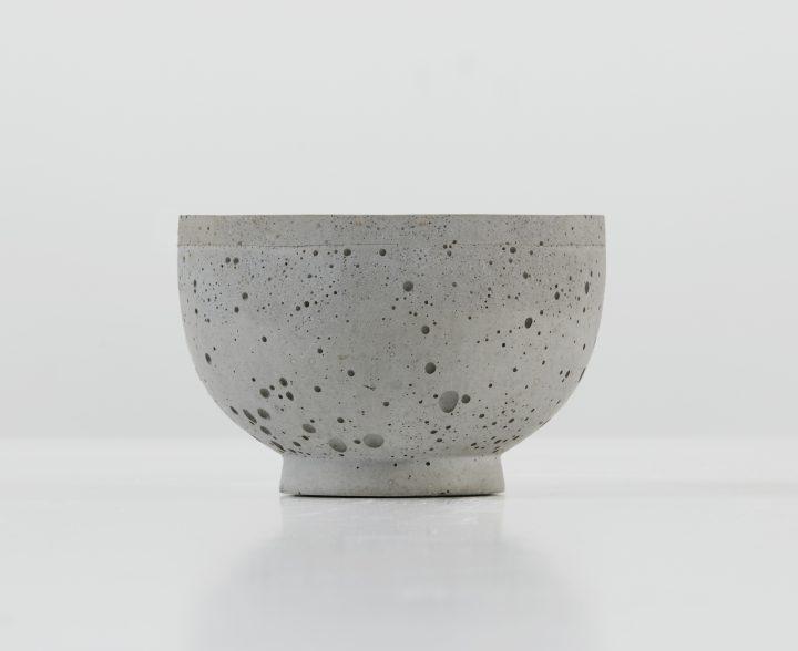 Bol chinois en béton par Atelier B