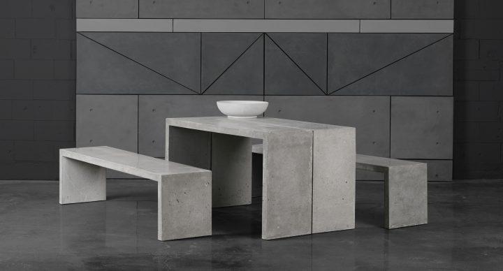 Table P en béton
