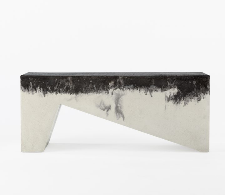 Ziggy Concrete Bench